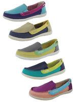 Crocs Womens Walu Canvas Loafer Slip On Shoe