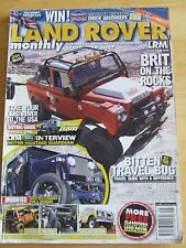 LAND ROVER MONTHLY MAGAZINE SEP 2007 BRIT ON THE ROCKS LAND ROVER TO USA BITTEN