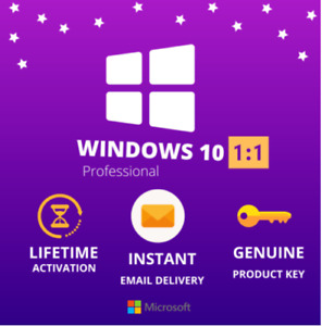 ✅Window$ 10 Professional Plus✅32/64bit✅Genuine Key🔑For1PC✅Fast Delivery✅