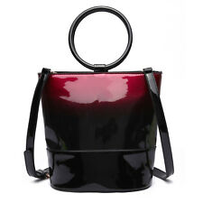 a802391320 LeahWard Patent Two Tone Bags For Women Small Ladies Tote Shoulder Bag  Handbag