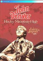 MUSICAL = JOHN DENVER - ROCKY MOUNTAIN HIGH =LIVE IN JAPAN 1981 = VGC CERT U