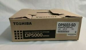 Toshiba DP5022-SD Office Display Telephone Phone System - NEW