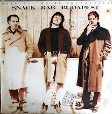 VINILE LP 33 GIRI RPM snack bar budapest soundtrack ITALY 1987 837 551-1
