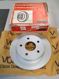Genuine Ford Granada Scorpio Rear Brake Discs 85-92 5027464 5022669