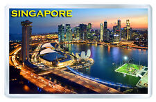 SINGAPORE MOD4 FRIDGE MAGNET SOUVENIR IMAN NEVERA