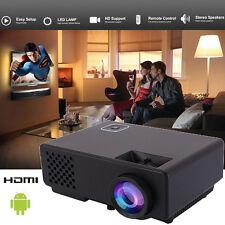 1080P HD 3200Lumens 3D LED Projector WIFI Home Theater Cinema HDMI/USB/TV/VGA/AV