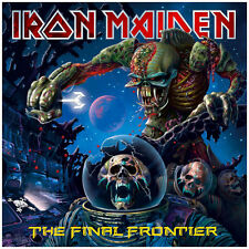 "Iron Maiden The Final Frontier Art Print Poster 24"" x 24"""