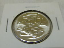 2010 UNC 20 cent coin from mint bag comes in 2x2 HOLDER