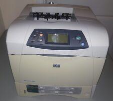 HP LaserJet 4250n Laser Printer 146k Page Count  W/ Used Toner.