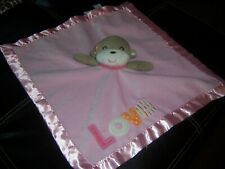 Carters Pink Love Baby Lovey Security Blanket Lovely