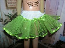 "Green Sparkle Nylon Net Slip Petticoat 25"" Doll clothes fit Mattel Charmin Cathy"