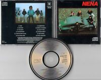 Nena CD NENA s/t © 1983 JAPAN FOR EUROPE CBS Sony CDCBS 25264 smooth sided case