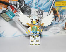 New LEGO Legends of CHIMA Equila original Eagle Tribe w/ Golden armor, Axe & Chi