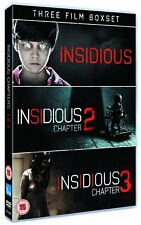 Insidious Triple Pack (Films 1-3) (DVD)