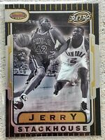 JERRY STACKHOUSE 1996-97 Bowman's Best RETRO Basketball INSERT Card #TB12 76ers