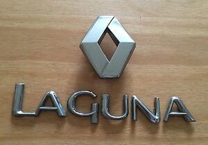RENAULT LAGUNA rear badge logo emblem 7700824021 (C37)