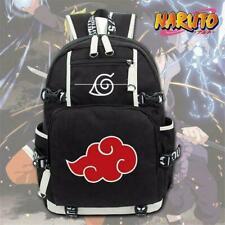 Anime Naruto Akatsuki Red Cloud Backpack School Shoulder Bag Rucksack RWBN