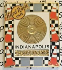 2005 HARD ROCK CAFE INDIANAPOLIS GOLD RECORD SERIES CHECKERED RACE FLAG LE PIN