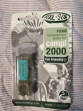 Kool Stop Campi 2000 Road Bike Brake Pads Inserts Shoes NEW One Pair.  A1