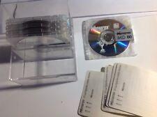 5 Memorex MD 80 Mini Discs.  Flip Top Box of 5