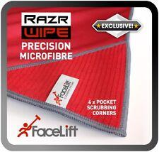FaceLift RazrWIPE Precision MICROFIBRE Cloth Traditional Window Cleaning Scrub