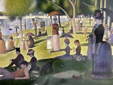 """Artifact Puzzles Georges Seurat """"Sunday Afternoon"""" wooden jigsaw 428 pieces"""