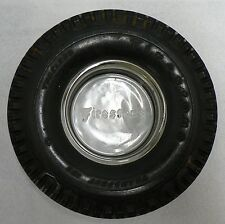 OLD FIRESTONE TIRES TIRE SHAPE ASH TRAY