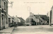 Carte ASSE LE RIBOUL Place de l'Eglise Diverses plaques de Pub dont BYRRH