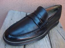 COLE HAAN GRAND OS Mens Black Dress Shoe Casual Comfort Penny Loafers Sz Size 9M