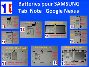 New Internal Battery For Tablet Samsung Tab 1 2 3 4 7 10 Note A S E S2