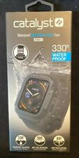 Catalyst Protective Waterproof Case for Apple Watch44mm -Stealth Black Series 4