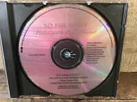 So Far Away by Rod Stewart (CD, PROMO Single) PRCD 6548-2