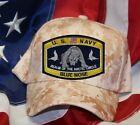 BLUE NOSE HAT PATCH CAP US NAVY ARTIC SUB PIN UP SAILOR POLAR BEAR 66 32 33 N