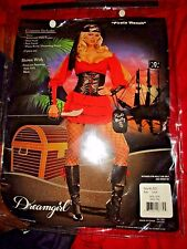 Halloween Costume Dreamgirl 5923 Women's Sexy Pirate Wench Booty Bag Large