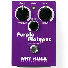Way Huge Whe800 Purple Platypus Octidrive Octave and Overdrive Effects Pedal