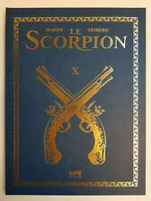 Le Scorpion - Tome 10 - Tirage de Luxe/TT Khani - Marini