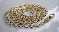 BEAUTIFUL 9CT GOLD GF CURB CHAIN CHEAPEST ON EBAY ref {014)