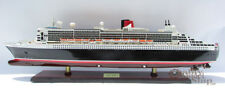 RMS Queen Mary 2 Cunard Line Handmade Ship Model Museum Quality Scale 1/400