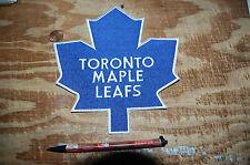 """Toronto Maple Leafs 7"""" Large Jacket Logo Patch Hockey"""