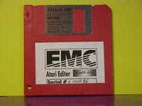 RARE ATARI Editor Korg M1 M1R T3 EX T1 Séries floppy Disk 720 K° Vintage sounds