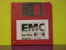 ATARI Editor ROLAND Linear synth D5 D10 20 D-110 Floppy Disk 720 K° Vintage