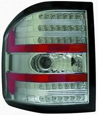 2004 2005 2006 2007 2008 FORD F150 SUPER DUTY Chrome LED Tail Light Pair/Set New