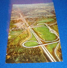Norristown & Northeast Extension Interchanges PA Postcard Unused Free Shipping