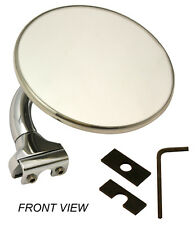 PEEP MIRROR 4 INCH CHROME WITH FITTING KIT