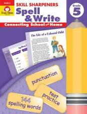 Skill Sharpeners Spell & Write Grade 5