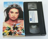 Demi Moore Choices VHS 1992 Victor French Drama Home Video Tape