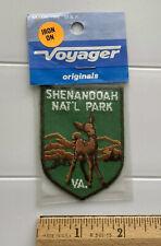 NIP Shenandoah National Park Virginia Deer Doe Souvenir Green Embroidered Patch