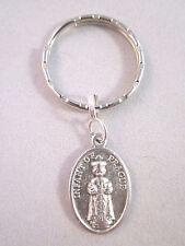 Infant of Prague / Sacred Heart of Jesus Medal Italy Key  Ring