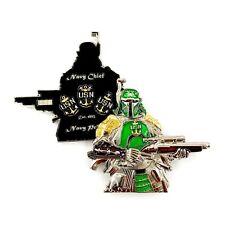 Star Wars Samurai Ronin Boba Fett USNavy Master Chief CPO Challenge Coin Serial#