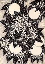 1941 Don Blanding Original Art Deco Vintage Print Orange Blossoms